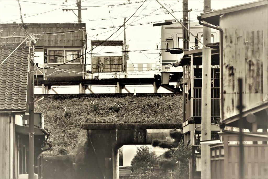 冬の戸綿駅