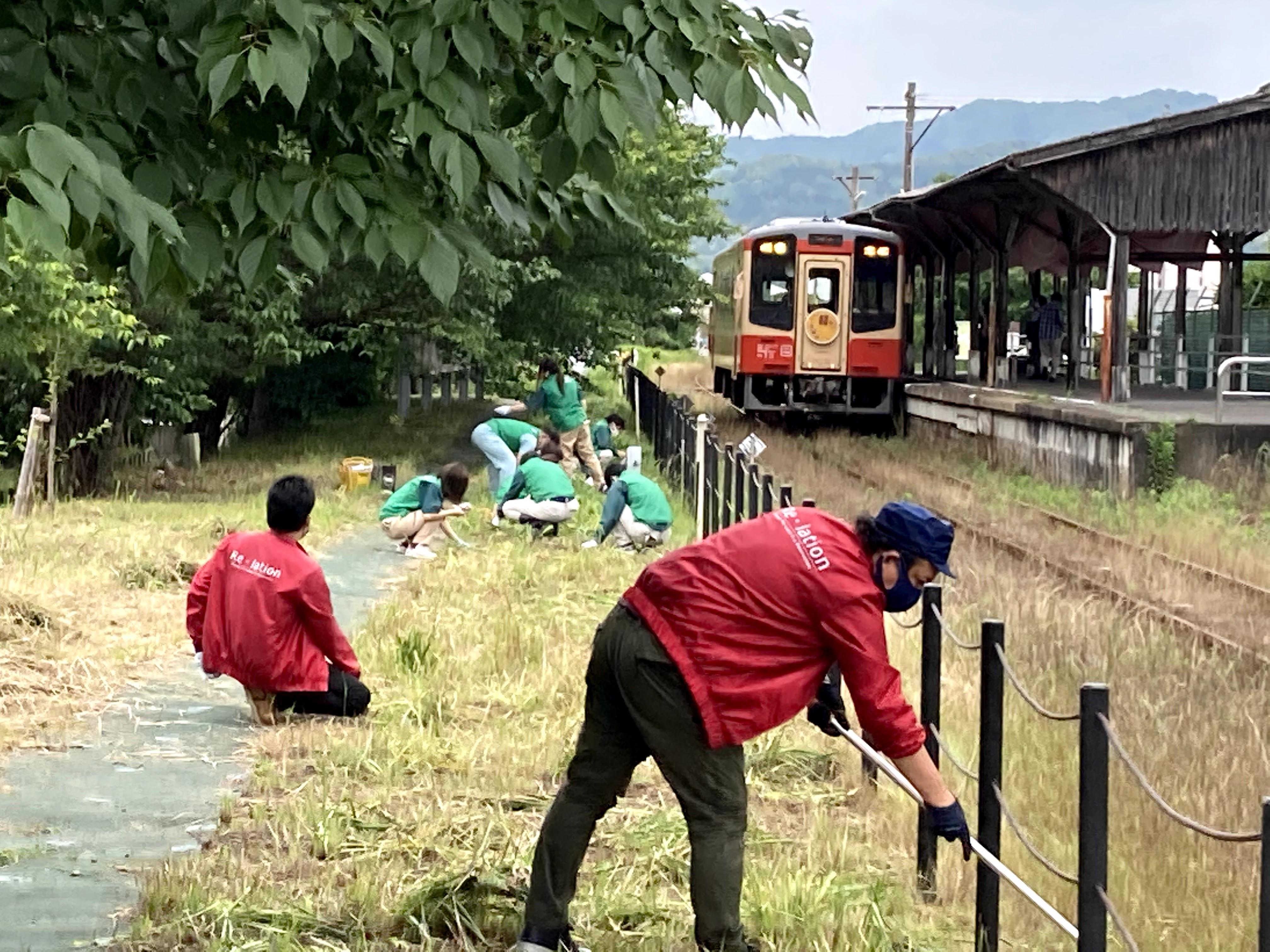 2021.05.29Re-lationグループ気賀駅アダプト活動2